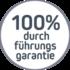 100% Durchführungsgarantie