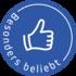 Button besonders beliebt bdw blau 85 50 0 0
